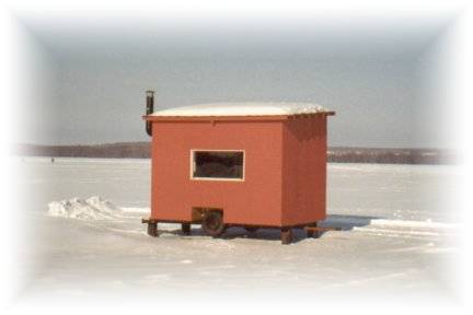 Fishing hut for 7 persons