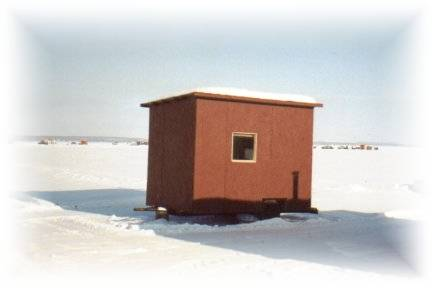 Fishing hut for 6 persons