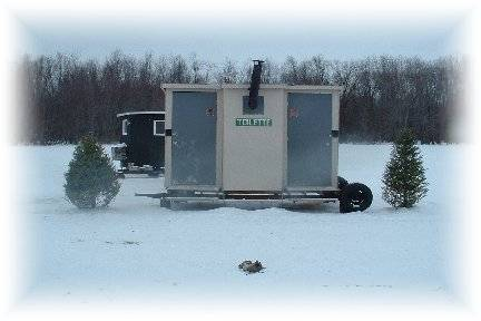 Photo of our new heated toilets.
